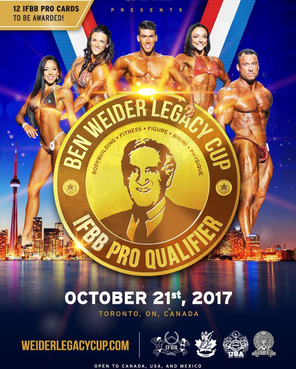 TORONTO-BEN WEIDER LEGACY CUP 2017